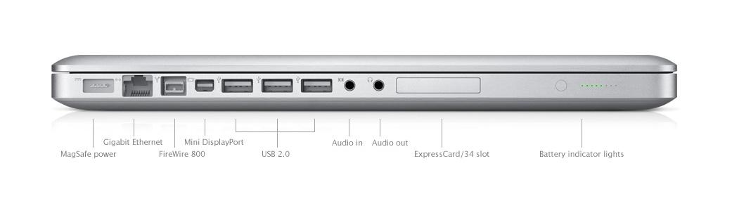 Apple MacBook Pro 17 Mid 2010 Silver