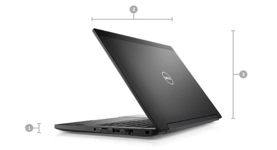 Dell Latitude 7280 Touch Matte Black