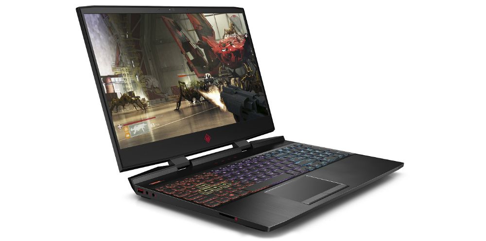 HP OMEN 15-dc1002ne Shadow Black