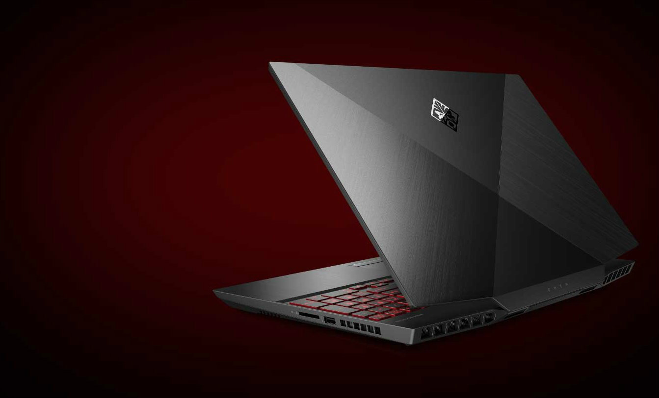HP OMEN 17-cb0010nt Shadow Black