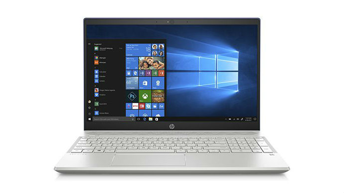HP Pavilion 15-cs1005ne Natural Silver