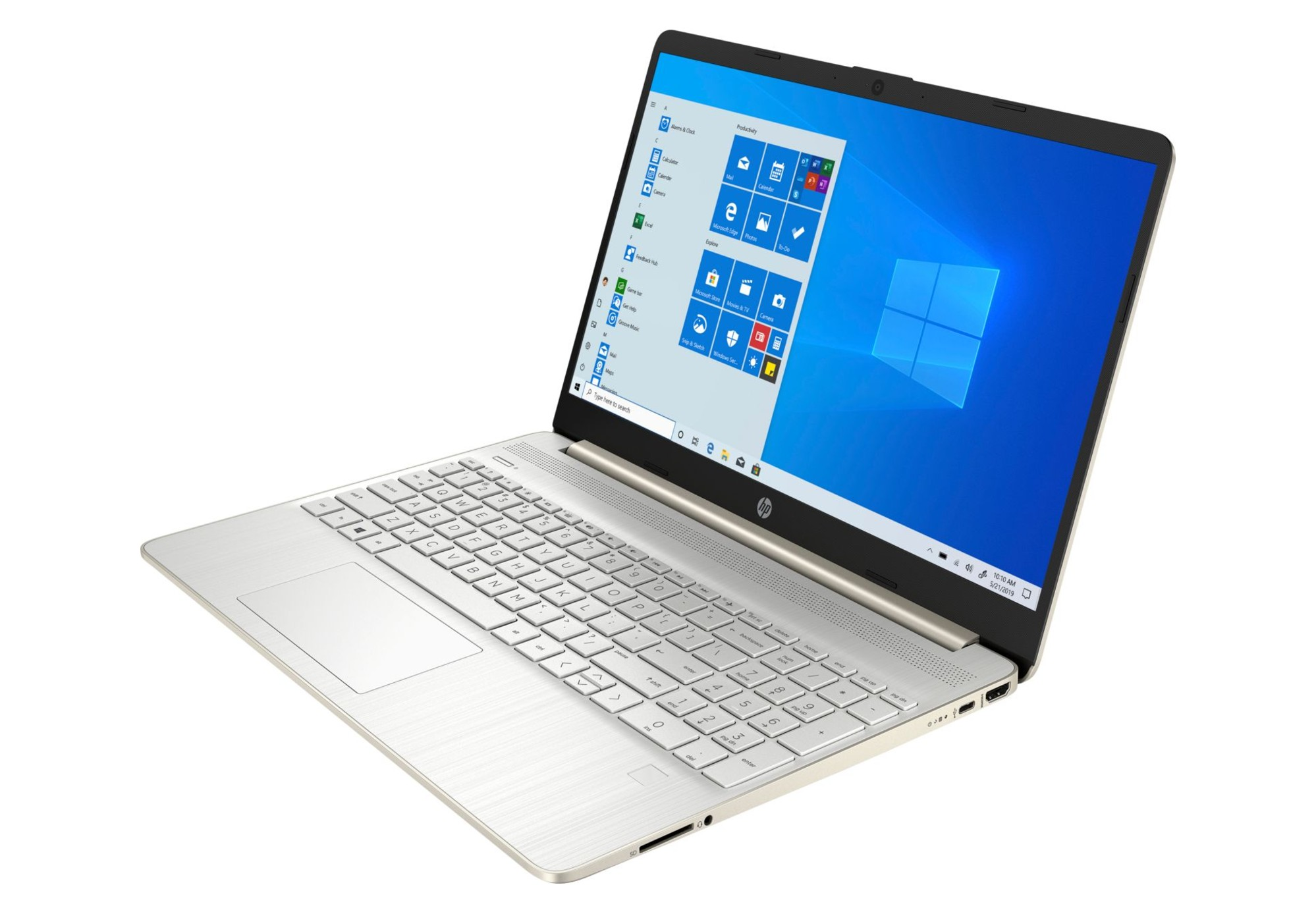 HP 15s-fq1057nw Pale Gold