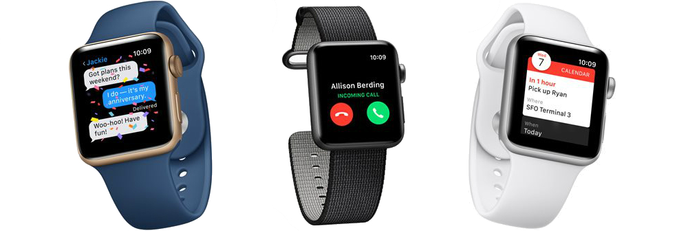 Apple Watch 42mm Series 2 Nike+ Space Gray - L