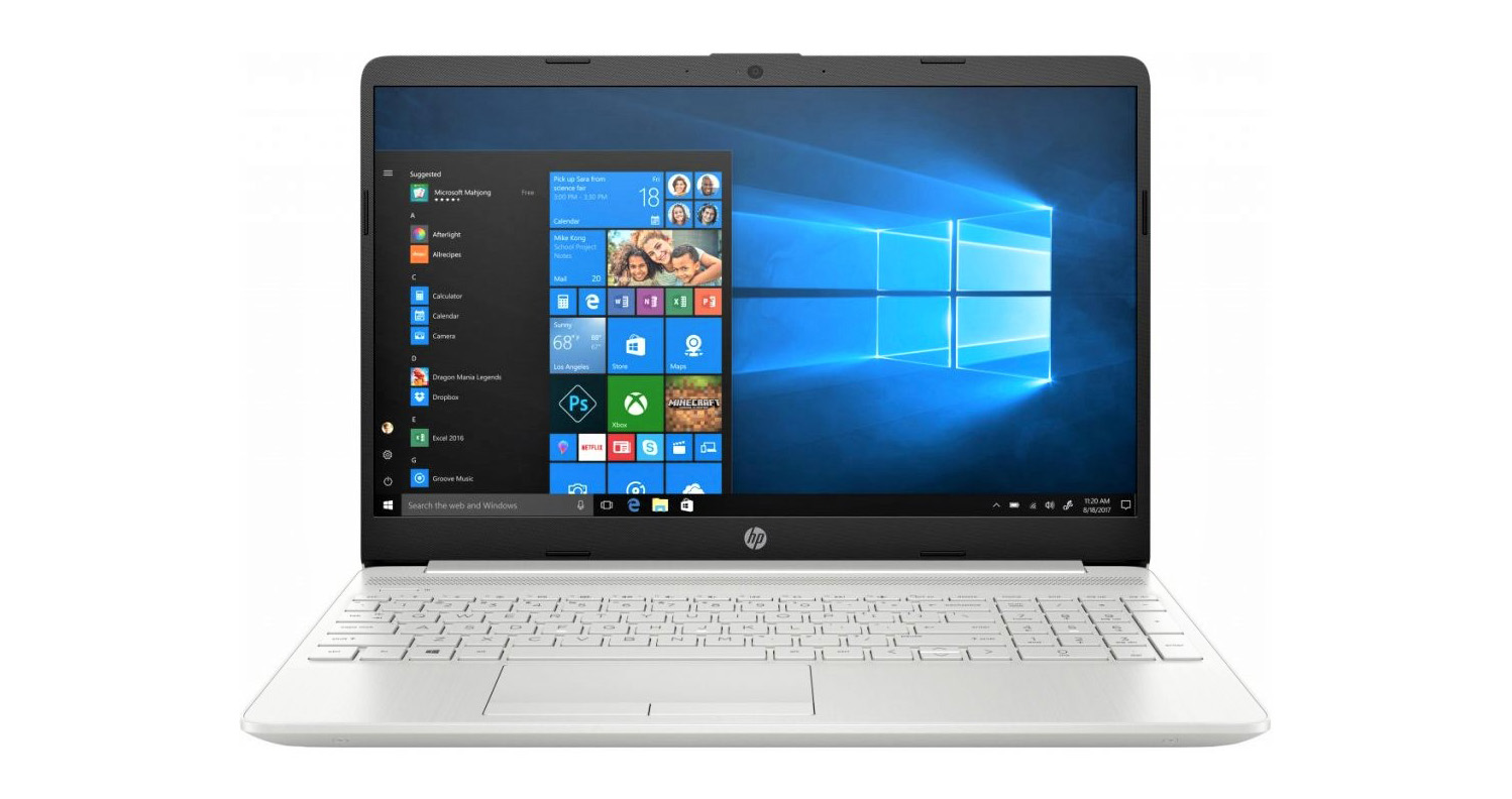 HP 15s-fq1043nl Natural Silver